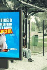 """Socialiniai plakatai """"Manipuliacija vartotoju"""""""
