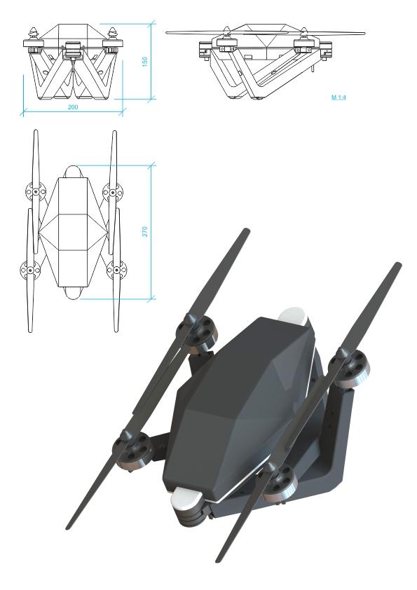 s3KVA DRO KOPTERIS BZ-4
